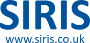 Logo der Firma SIRIS Environmental Ltd., Großbritannien.